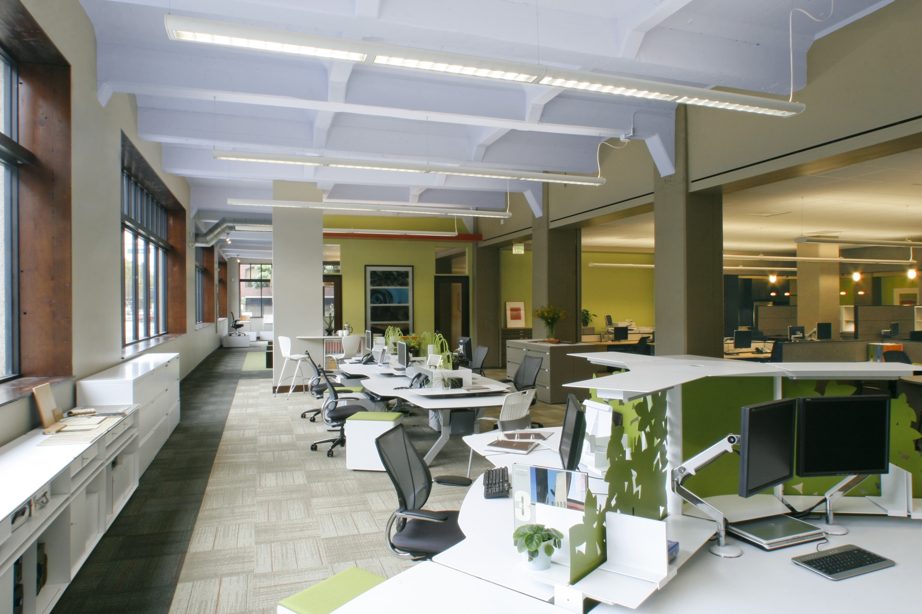 Resource and design company office yerba buena builders for Office design companies